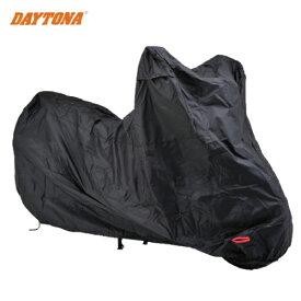 【DAYTONA[デイトナ]】 バイクカバー ボディーカバー Mサイズ 98201 BLACK COVER Simple バイクカバーシンプル ブラック 盗難防止 キャッシュレス5%還元