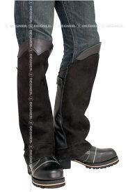 【送料無料】【DEGNER[デグナー]】 レザー ブーツ チャップス DBC-07A ブラック キャッシュレス5%還元
