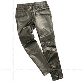 【送料無料】【DEGNER[デグナー]】 レディース スキニー レザー パンツ FRP-23 ブラウン/Lサイズ