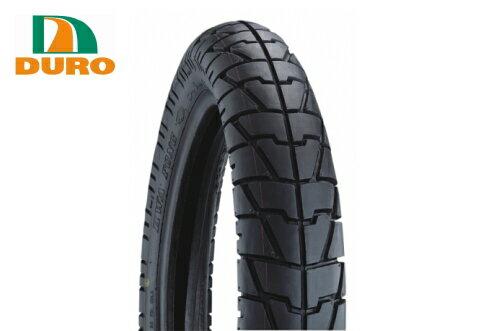 ダンロップOEM DURO デューロ :チューブレスタイヤ 110/90-18 HF329 フロント/リアタイヤ兼用