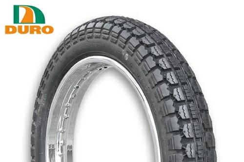 ダンロップOEM W400/2006〜用 フロントタイヤ DURO デューロ :チューブタイヤ 4.00-19 400-19 HF308