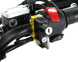 【KITACO[キタコ]】 【GROM グロム MSX125】用 ヘルメットホルダー ゴールド/ブラック[564-0500070] キャッシュレス5%還元