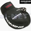 【KOMINE[コミネ]】バイク用 バイクハンドルカバー防水防寒 ネオプレーンハンドルウォーマー ブラック