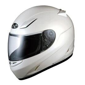 送料無料 フルフェイス ヘルメット (オージーケーカブト) FF-R3 パールホワイト Sサイズ バイクヘルメット OGK KABUTO
