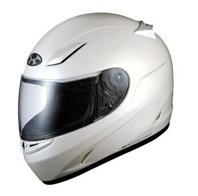 送料無料 フルフェイス ヘルメット (オージーケーカブト) FF-R3 パールホワイト XLサイズ バイクヘルメット OGK KABUTO