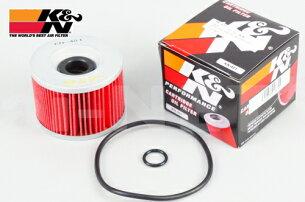【K&N[ケイアンドエヌ]】製オイルフィルターオイルエレメント[KN-207]【RMZ250RMZ450KX250F】