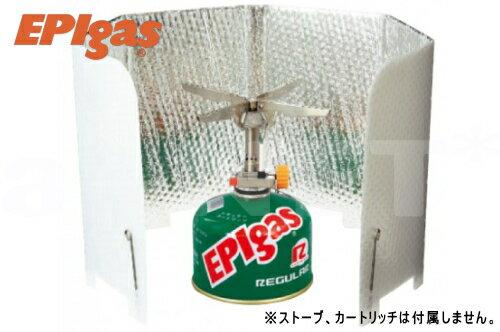 EPIgas[EPIガス] 風防 ウインドシールド ロング 【超軽量】直結型ストーブ用【A-6503】バーナー用 ウインドスクリーン【あす楽】
