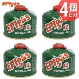 EPIgas 230レギュラーカートリッジ ガス缶 4個セット 高性能標準タイプガス バーナー用 ガスカートリッジ キャンプ アウトドア トレッキング フィッシング G-7001 EPIガス あす楽対応【楽天スーパーセール 開催】