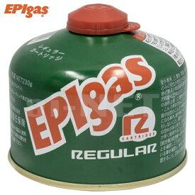 EPIgas EPIガス 230レギュラーカートリッジ 高性能標準タイプガス バーナー用 ガス缶 ガスカートリッジ キャンプ アウトドア トレッキング フィッシング G-7001 あす楽対応【楽天スーパーセール 開催】