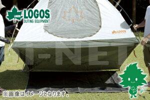 LOGOS/ロゴス テントぴったりグランドシート・M 190×190【71809707】【グランドシート テントアウターマット テントアウターシート 完全防水】 あす楽対応