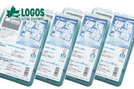 お買い得4個セット LOGOS/ロゴス 倍速凍結・氷点下パックM 81660642 保冷剤 冷凍保存 長時間 BBQ フィッシング アウトドア あす楽対応