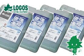 送料無料【お買い得4個セット】LOGOS/ロゴス 倍速凍結・氷点下パックXL 【81660640】最強 保冷剤 冷凍保存 長時間【あす楽】