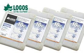 【お買い得4個セット】LOGOS/ロゴス 氷点下パックGT-16℃・ハード1200g 81660611 保冷剤 冷凍保存 長時間 あす楽対応