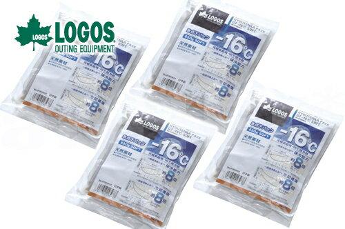 【お買い得4個セット】LOGOS/ロゴス 氷点下パックGT-16℃・ソフト550g 【81660603】 保冷剤 冷凍保存 長時間 最強 保冷材