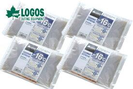 お買い得4個セット LOGOS/ロゴス 氷点下パックGT-16℃・ソフト900g 81660607 保冷剤 冷凍保存 長時間 あす楽対応