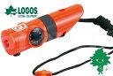 LOGOS/ロゴス LLL 7機能サバイバルホイッスル【82100100】防災グッズ ライフライン【防災用品 緊急連絡用 災害対策】…