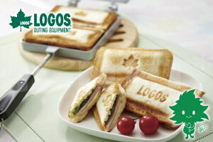 【TVで紹介】LOGOS/ロゴス ホットサンドパン 81062239 【登山 アウトドア ホットサンドメーカー クッキング キャンプ ハイキング サンドイッチクッカー 調理器具・バーべキュー用品 ランチ 朝食