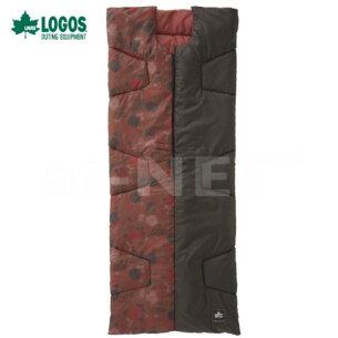 【送料無料】LOGOS/ロゴス丸洗いデザインセンタージップシュラフ・-2(プランツ)【72602000】冬用スリーピングバッグ封筒型シュラフ【キャンプアウトドア1人用洗濯可能】