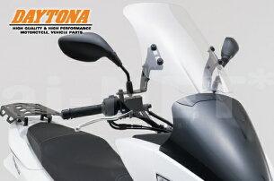【送料無料】DAYTONA(デイトナ)製PCX125/PCX150'15年モデル対応ウインドシールドHC91328クリアスクリーン