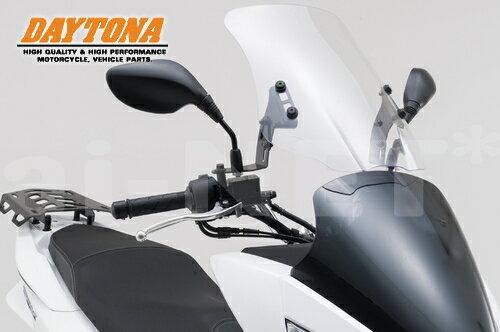 【送料無料】DAYTONA(デイトナ)製 PCX125/PCX150 '15年モデル対応 ウインドシールドHC 91328 クリア スクリーンウインドシールドスクリーン