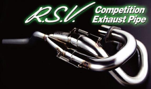 【ラフ&ロード】 R.S.V. 4st コンペティション EXパイプ XLR250/BAJA(MD22),XR250('03~) 【RSV8101】【ROUGH&ROAD[ラフアンドロード]】