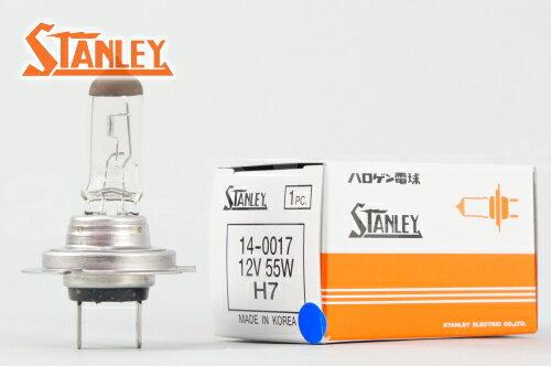 【MAXAM マグザム】【STANLEY[スタンレー]】 ハロゲン ヘッドライトバルブ 【H7】 12V 55W 純正リペア用(14-0017)