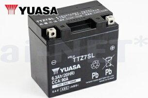 ユアサバッテリーTTZ7SLバッテリー【YUASA】【YTZ7S】【FTZ7S】【GTZ7S】【7S】【互換】【バッテリー】