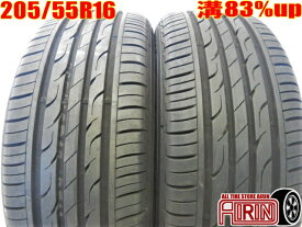 205/55R16 KUMHO SENSE SE11 2本セット86 オーリス ヴォクシー ラフェスタ リーフ アクセラ インプレッサなどに中古タイヤ 16インチ中古 夏タイヤ サマータイヤ 205 55 R16