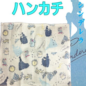 日本手帕毛巾迪斯尼灰姑娘蚊帐布 • 内容奈良传统蚊帐织物迪斯尼公主 / 儿童 / 礼品