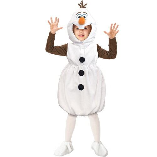 【即納 あす楽】アナと雪の女王 オラフコスプレ 衣装ディズニー 公式 キャラクター子供用 チャイルドオラフ仮装 ハロウィン コスチュームパーティー イベント[95326][Child Olaf]