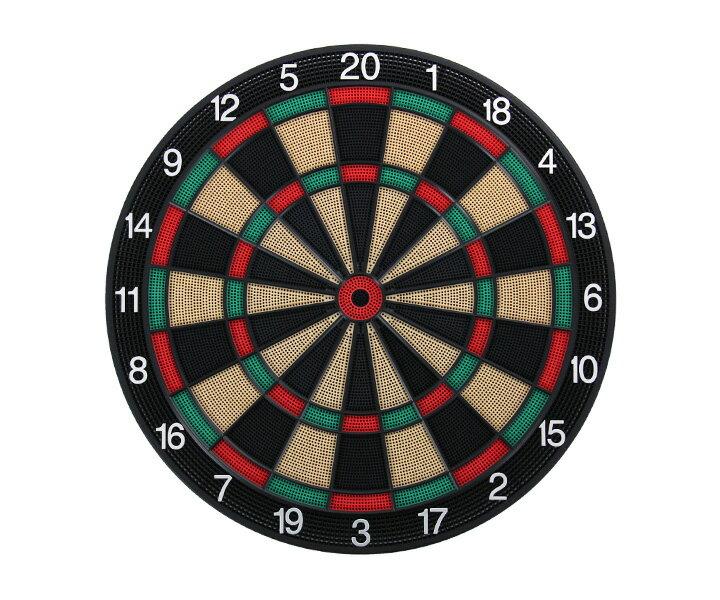ダーツ 自宅練習ダーツボード ソフトボードD.craft ディークラフト15.5インチ Professional Board SATURN サターングリーン/レッド 緑赤