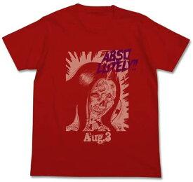 【SALE 対象商品】楳図かずおABSOLUTELYTシャツ レッド 赤恐怖 顔をみないで 久美Tシャツアニメ グッズCOSPA コスパ