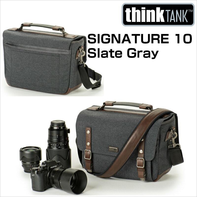 thinkTANKphoto シンクタンクフォト カメラバッグ シグネチャー 10 スレートグレー