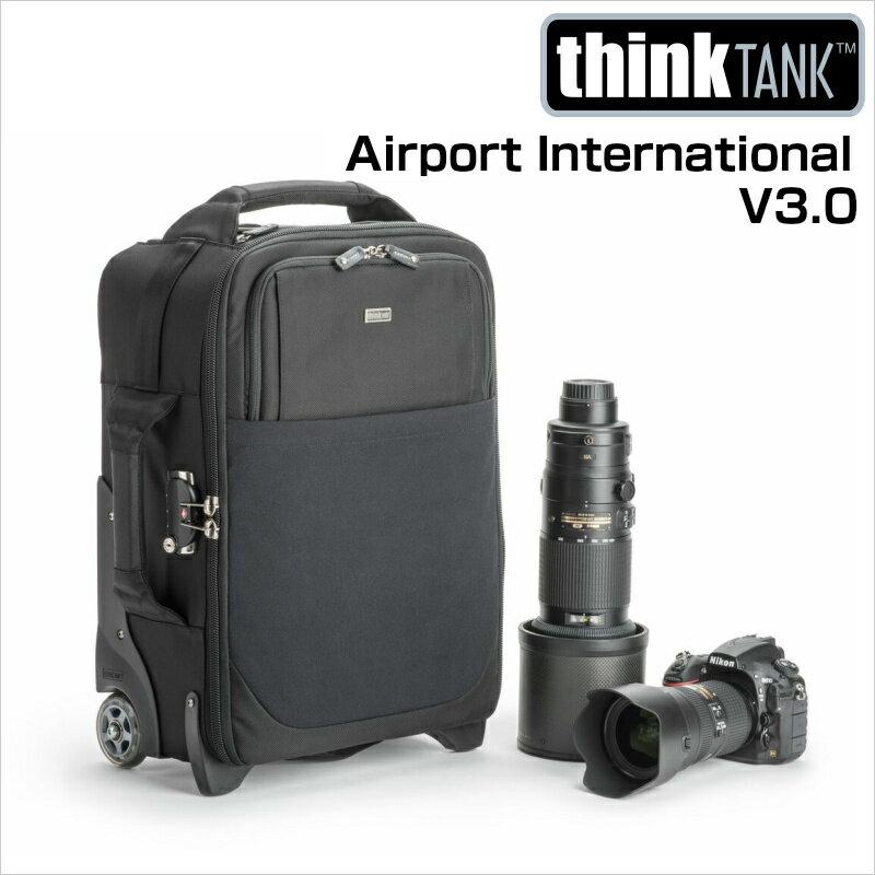 thinkTANKphoto シンクタンクフォト カメラバッグ ローリングケース エアポート インターナショナル V3.0