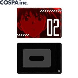EVANGELION グッズ 公式 エヴァ 式波・アスカ・ラングレー フルカラーパスケース カードケース カード入れ COSPA