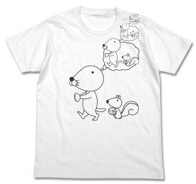 【送料無料キャンペーン中】ぼのぼのぼのぼの妄想Tシャツ WHITECOSPA コスパ アニメ グッズ イベント コミケ