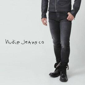 【秋冬OUTLET】ヌーディージーンズ Nudie Jeans スキニージーンズ デニム Lean Dean リーンディーン ブラック加工デニム BLACK CHANGES 42161-1314-547 ブラックステッチ