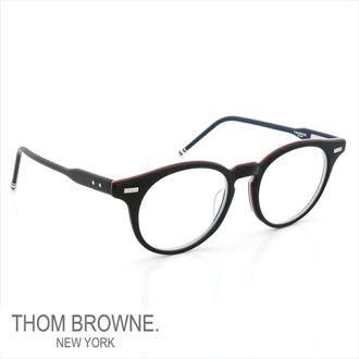 Thom 眼镜 THOM BROWNE。 纽约眼镜 (Thom 纽约) 眼镜 TB-404-A-BLK-45 P08Apr16
