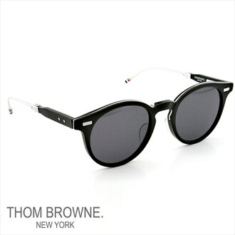 Thom glasses THOM BROWNE. NEW YORK EYEWEAR (Thom York) new folding sunglasses TB-806-A BLK-SLV-52 P08Apr16