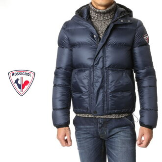 Rossignol apparel /ROSSIGNOL APPAREL's nylon down jacket DOWN LAYER JKT rlfmj67-715 Dark Navy