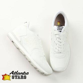Atlantic STARS/大西洋明星运动鞋白ANTARES vsc-86b