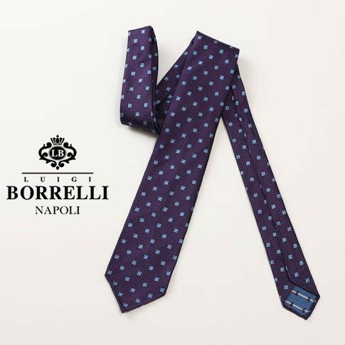 【Luigi Borrelli ルイジ ボレリ】ボレッリ セッテピエゲSfoderato(1枚仕立て) シルク100%(ジャガード) 7ps85-t4210-12