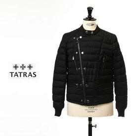 【秋冬OUTLET】タトラス ダウン メンズ TATRAS ダウン メンズ CRISANTEMO ダウンジャケット ブラック ウール MTK18A452