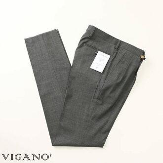 VIGANO ヴィガーノウールパンツグレー vig99-5737-928