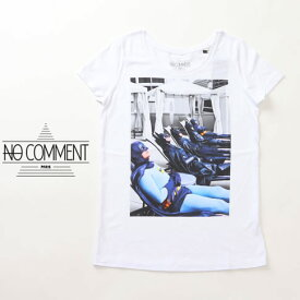 最終値下げクリアランスセールNO COMMENT PARIS ノーコメント 半袖 Tシャツ レディース ホワイト ncpl-03