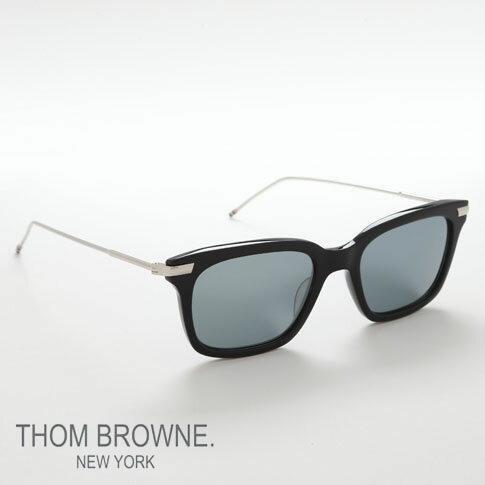 【全品ポイント還元中】トムブラウン メガネ THOM BROWNE. NEW YORK EYEWEAR(トムブラウン ニューヨーク)サングラス[TB-701-H-T Dark Grey -Silver Mirror 49size]