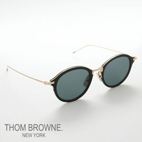 【数量限定 新入荷】トムブラウン メガネ THOM BROWNE. NEW YORK EYEWEAR(トムブラウン ニューヨーク)メガネ [TB-908 49size 01 BLK-GLD ]tbs-908-01-49