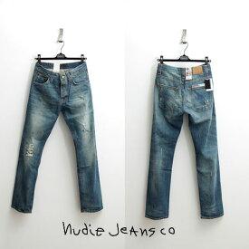 最終値下げクリアランスセール【Nudie Jeans】【ヌーディージーンズ】Average Joe アベレージジョー Organic Garage Worn デニム 36161-1146