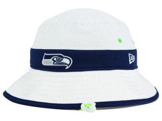 7b33947e8a5 auc-amazingstore  NEW ERA SEATTLE SEAHAWKS new gills Seattle Seahawks pail  hat  NFL hat headgear