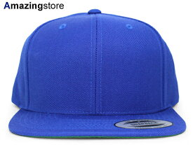 ユーポン フレックスフィット 【PREMIUM CLASSIC BLANK SNAPBACK/RYL BLUE】 YUPOONG FLEXFIT [for3000 18_6RE]